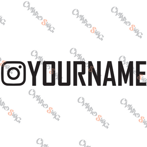 Instagram Decal (x2)