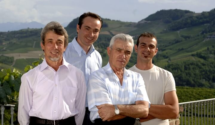 The Massolino men