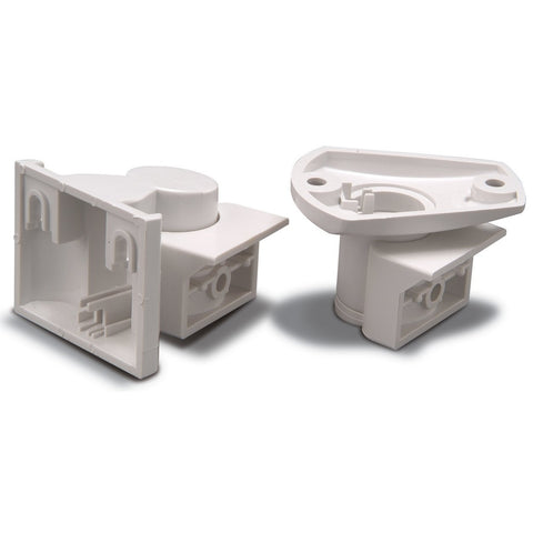 Swan mounting bracket. Enables SWAN det to be ceiling or wall mounted as shown above. m- ptoduts