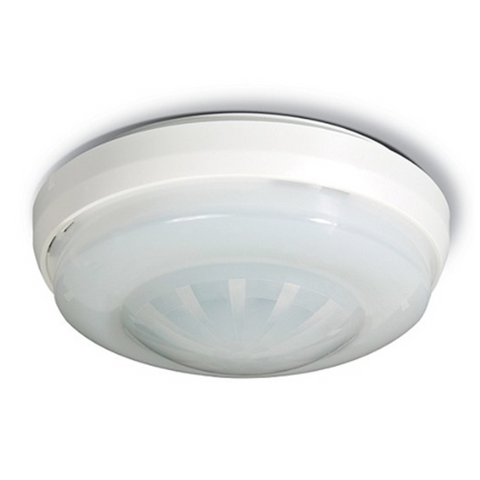 SRX360 Ceiling Mount Dual Technology Microwave & PIR. 20m diameter, Quad Pyro with hard spherical lens. For up to 3.6m mount height. Use CRLNSR01 Lens for higher heights m- ptoduts