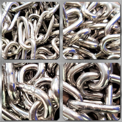 Stainless Steel Medium Link Chain