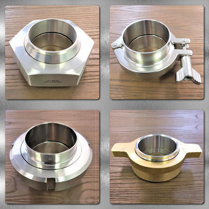 Stainless Steel Hygienic Fittings