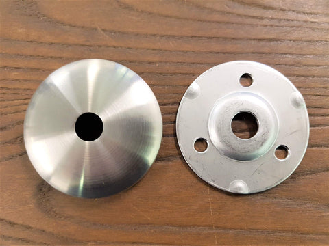 Stattin Stainless 12.7mm Satin Stainless Steel Base Plate and Cover Sets
