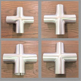 Stattin Stainless Stainless Steel Tube Crosses