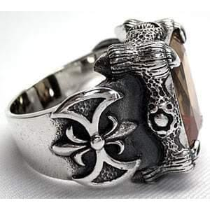 Imperial Sterling Silver Gothic Ring