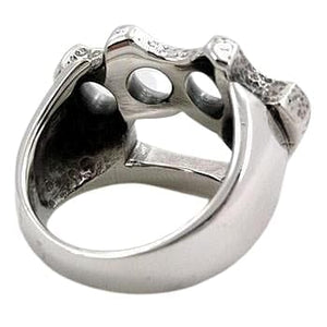 Sterling Silver Knuckle Duster Ring