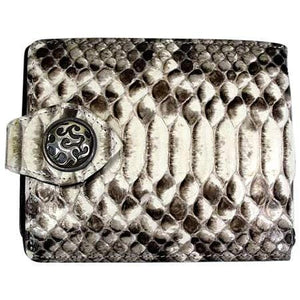genuine snake skin wallet