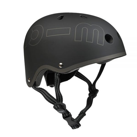 Micro Casco Adulto Negro Mate L
