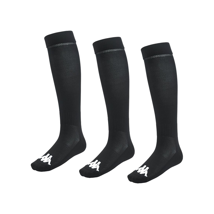 Kappa Lyna sock in black with white Omini on the foot