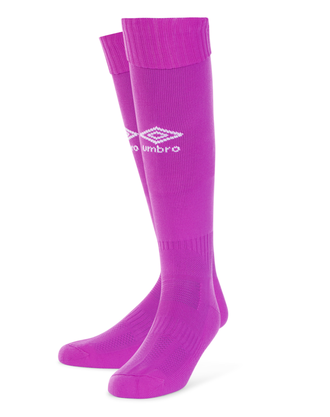 Umbro Classico football sock in purple cactus with white Diamond logo on the front