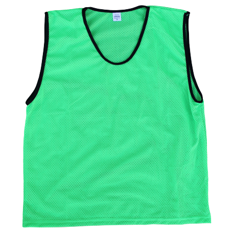 Diamond Mesh Bib in green