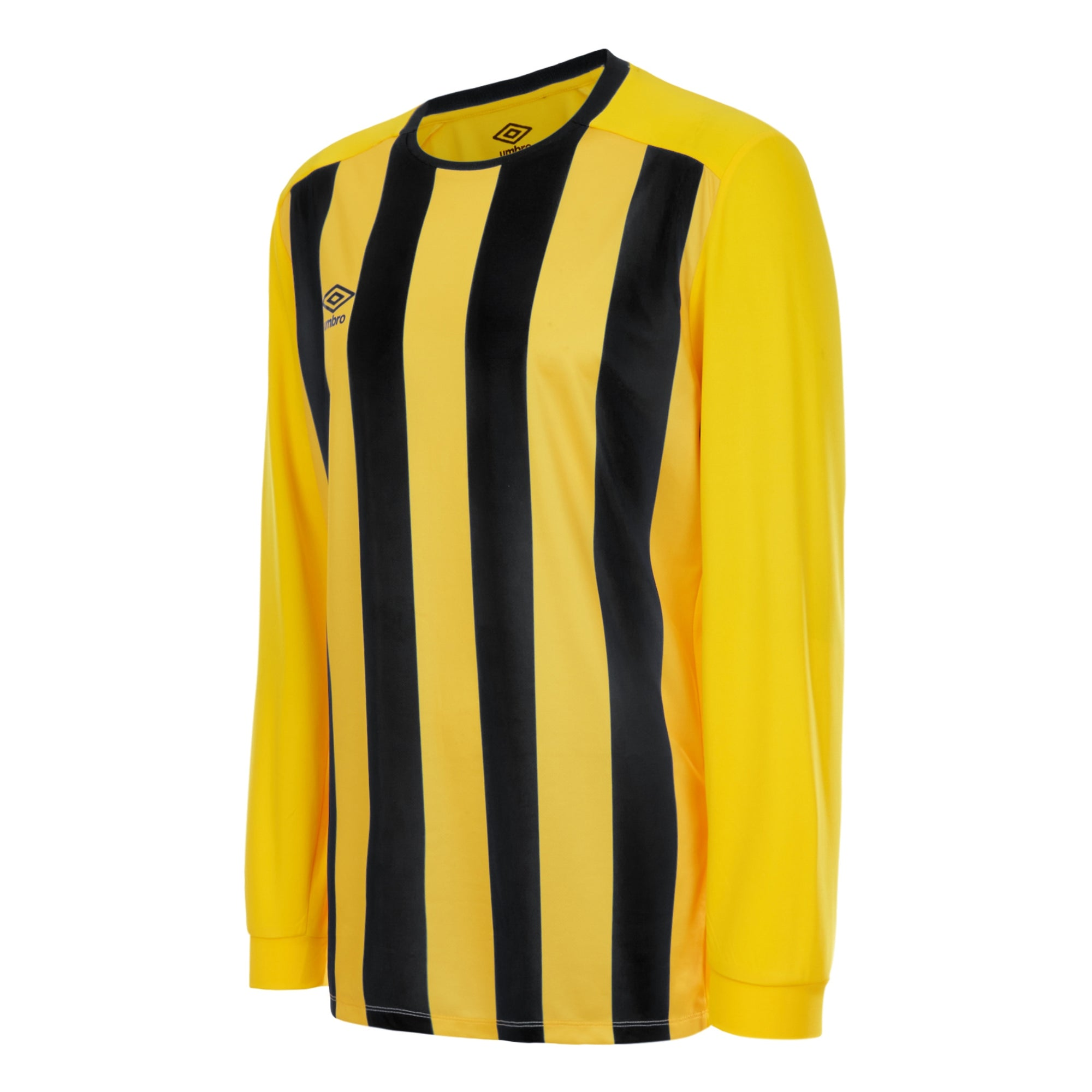 Umbro Milan Jersey LS - Yellow/Black