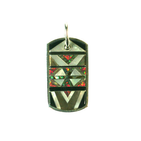 "Aztec ""Warrior"" Pendant"