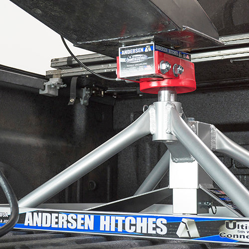 Aluminum Ultimate 5th Wheel Connection – Flatbed Mount Toolbox Version
