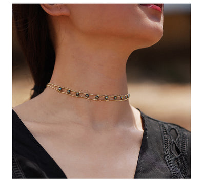 Copper Chain Choker