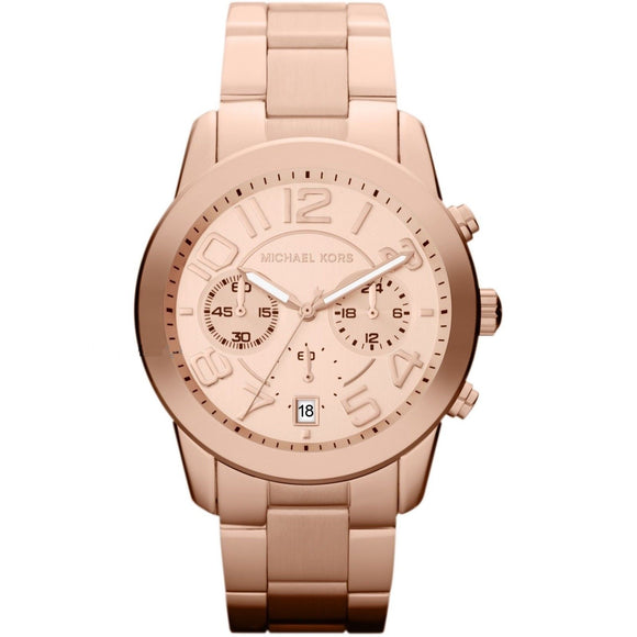 Michael Kors MK5727 Mrecer Rose Gold Chronograph Stainless Steel Number