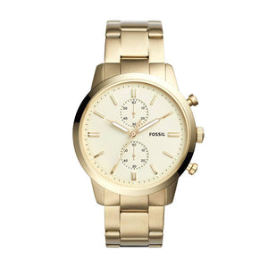 Fossil FS5348 Townsman All Gold Stainless Steel Chronograph