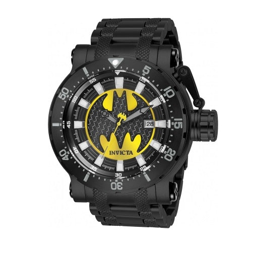 Invicta 26819 DC Comics Batman Black Stainless Steel Automatic Limited Edition