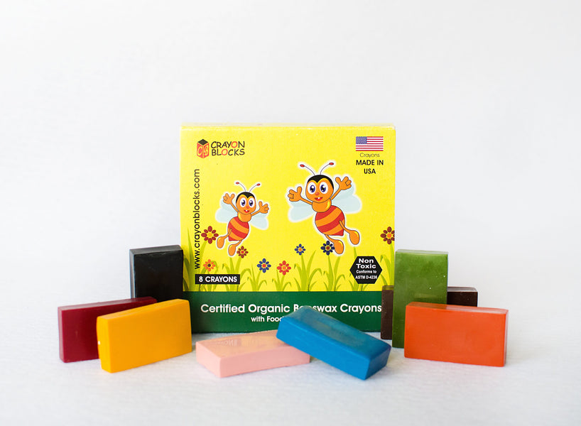 CrayonBlocks featured product review by little plastic footprint