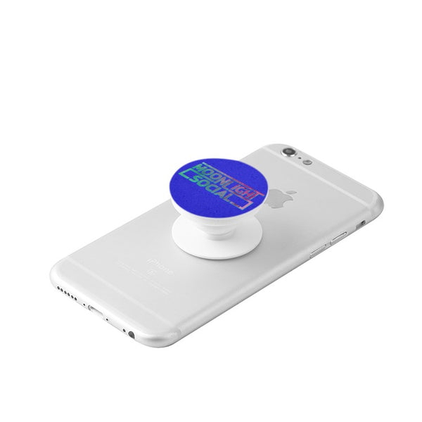 Moonlight Social Color Logo PopSocket For Phones and Tablets