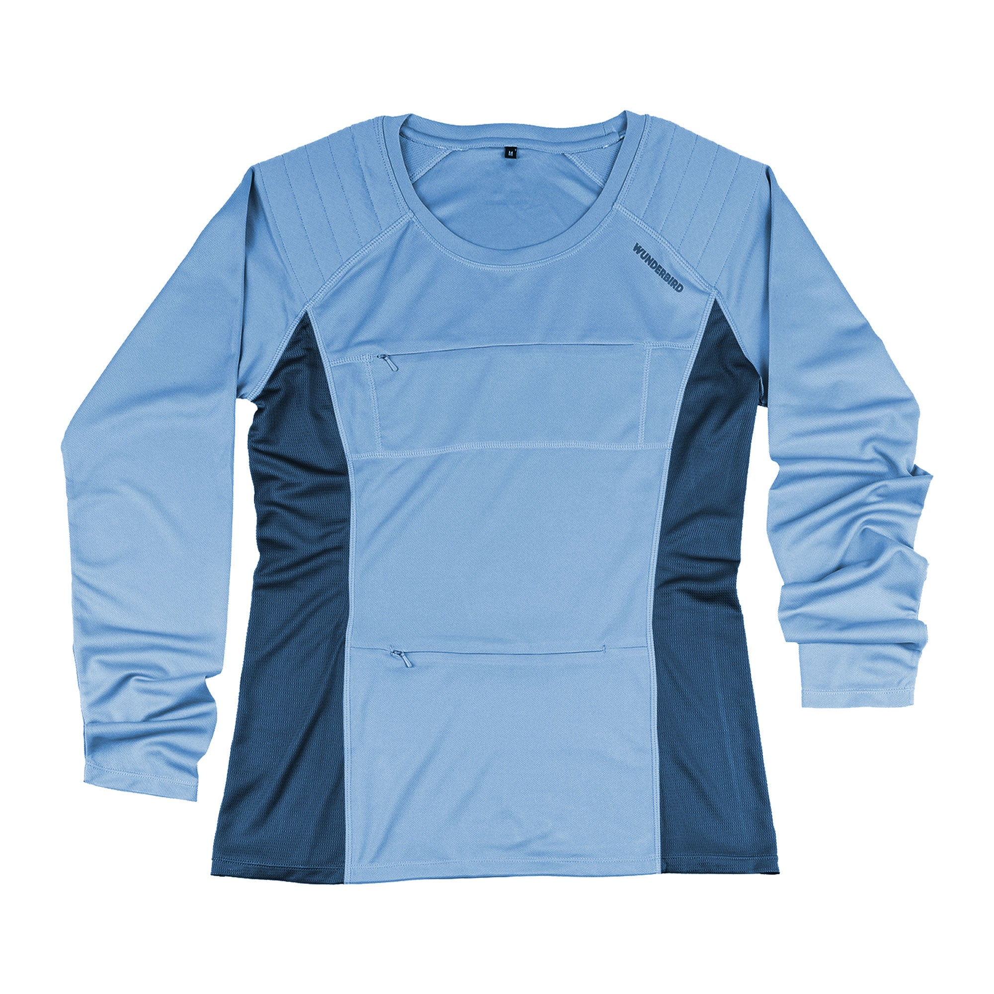 The Peregrine Long Sleeved Tee for birdwatchers - blue