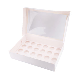 STURDY 24 HOLE STANDARD CUPCAKE WINDOW BOX