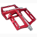 Anodized Lightweight Aluminum Bicycle Flat Pedals