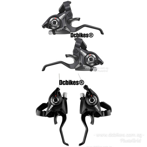 Shimano Left + Right V Brakes 8 X 3 Speed Shifter 24 Speed OR 7 X 3 Speed Shifter 21 Speed