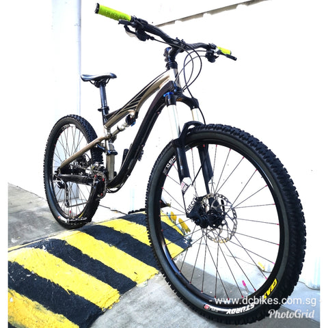 26er Specialized Camber Elite Full Air Suspension Mountain Bike
