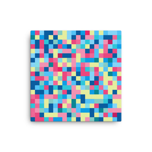 Colors Pixel Art Canvas