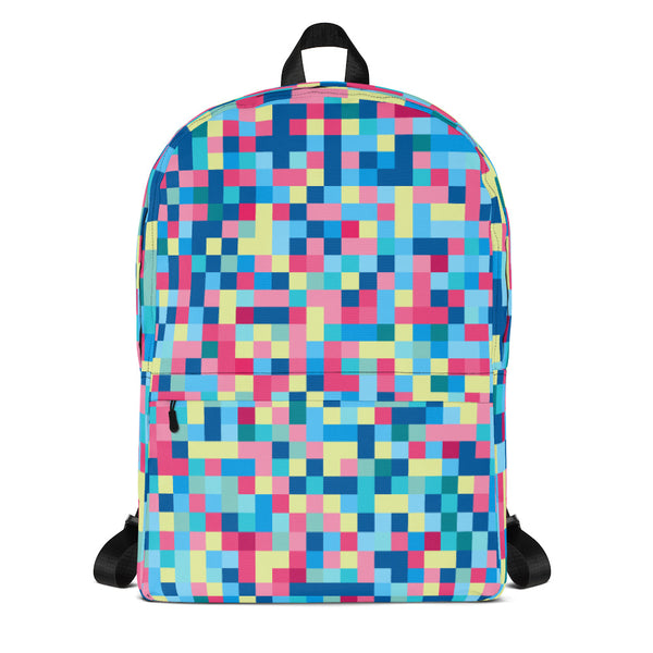 Colors Pixel Backpack