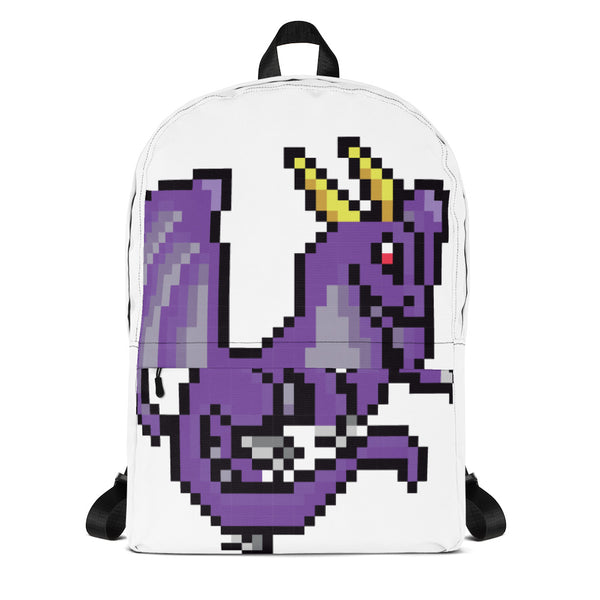Purple Dragon Pixel Backpack