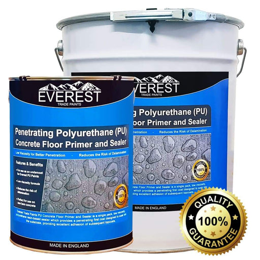 Everest Trade - Penetrating Polyurethane (PU) Concrete Dustproofer / Floor Primer & Sealer - PremiumPaints