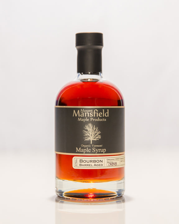 Organic Bourbon Barrel Aged Vermont Maple Syrup