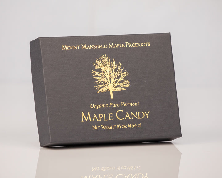 Organic Pound Pure Vermont Maple Sugar Candy