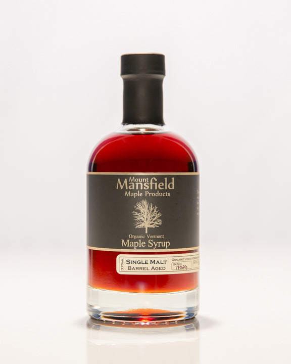 Organic Single Malt Barrel Aged Maple Syrup