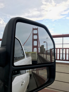 Hauling Marsanne & Roussanne over the Golden Gate Bridge