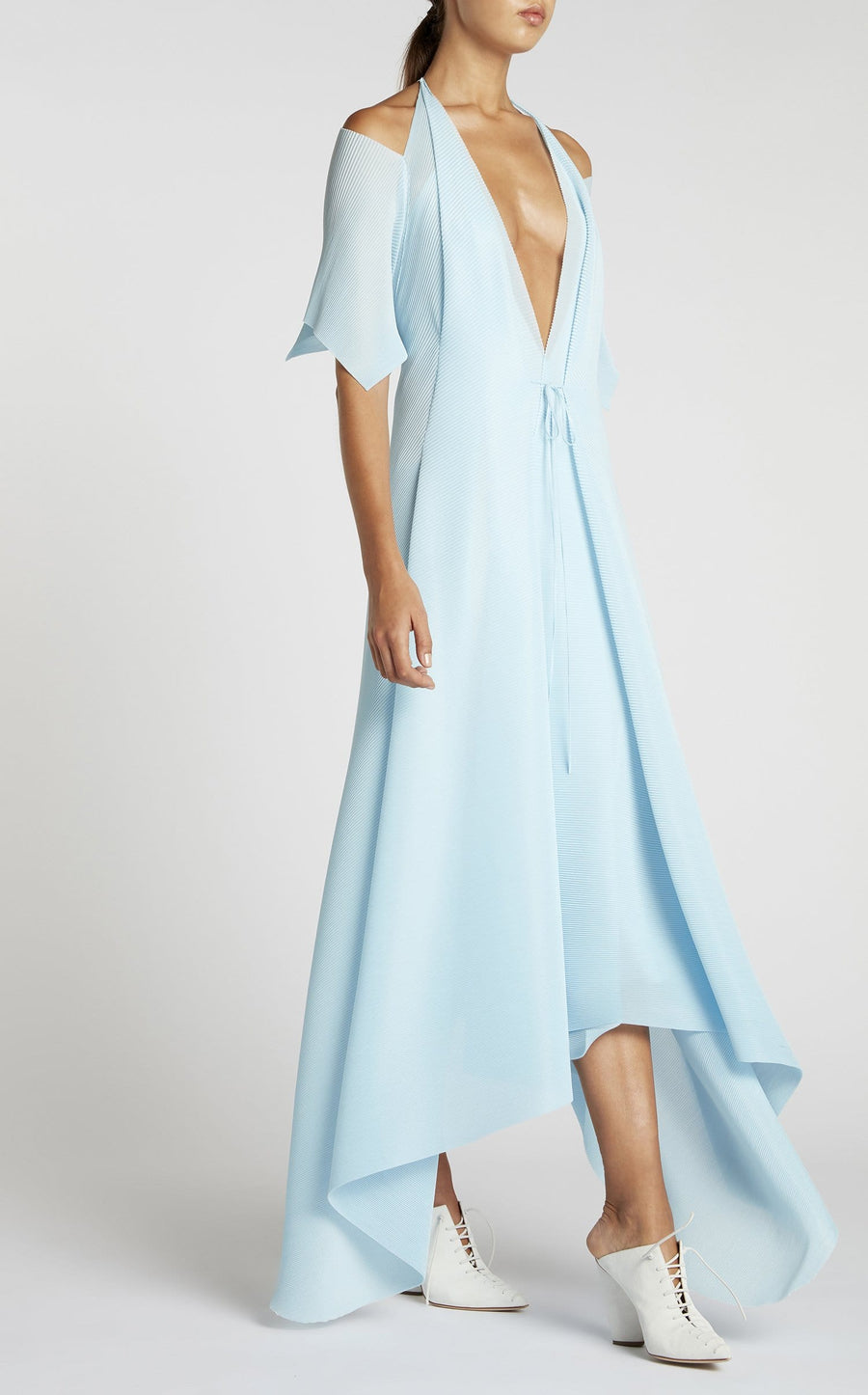 Ballard Dress In Ice Blue from Roland Mouret