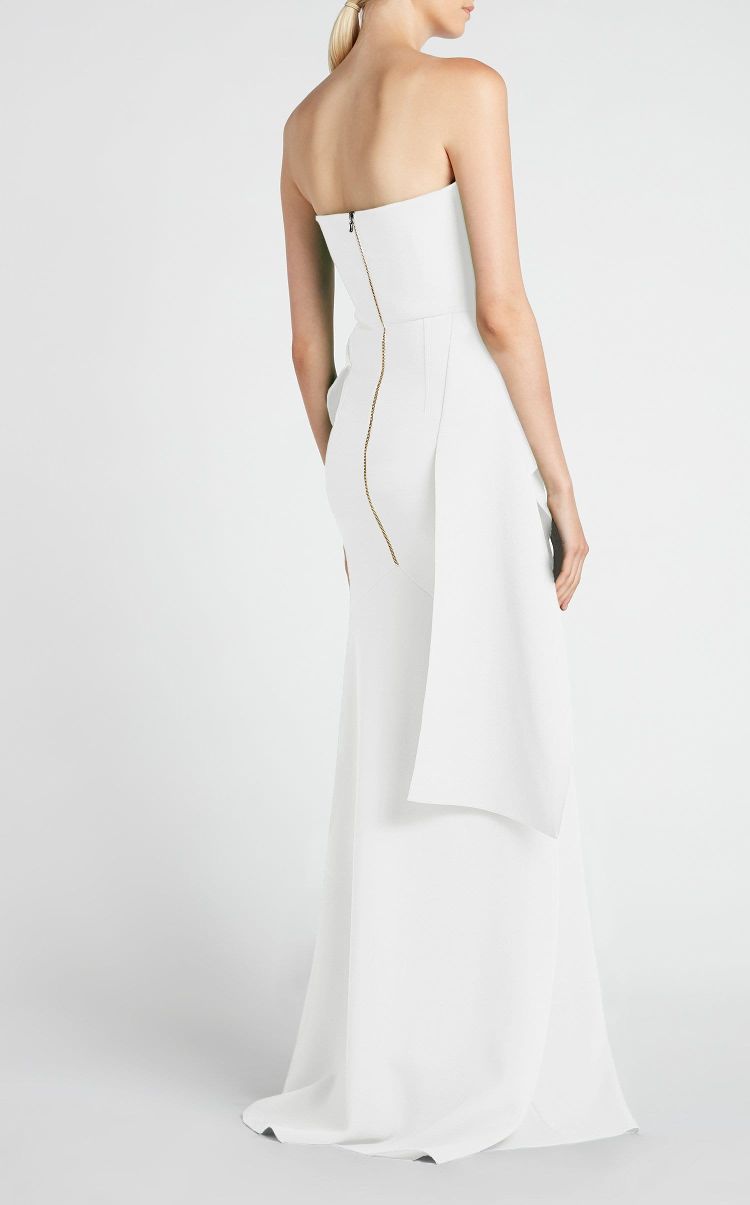 Bond Gown In White from Roland Mouret