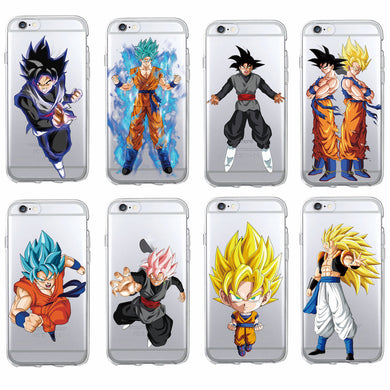 Goku Dragon Ball Z Iphone Plastic Phone Case