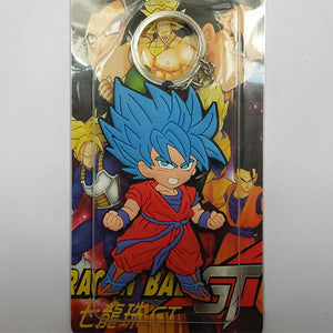 Dragon Ball Super - Super Saiyan Blue Goku Keychain