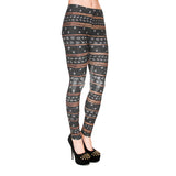 Aztec Glitter, Adult Leggings - Nimbus Apparel Co., leggings, tights, girls clothing, Korean, plus size, one size, colorful, comfortable, cute, unique, fun, adorable
