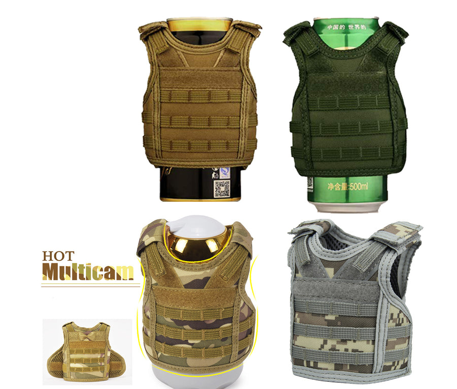 Plate Carrier MOLLE Vest Stubby Holders, Plate Carrier MOLLE Vest Stubby Holders
