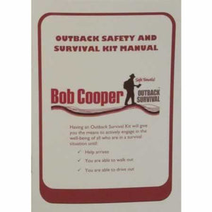 Bob Cooper Pocket Size Outback Safety Survival Kit Manual,Bob Cooper Pocket Size Outback Safety Survival Kit Manual