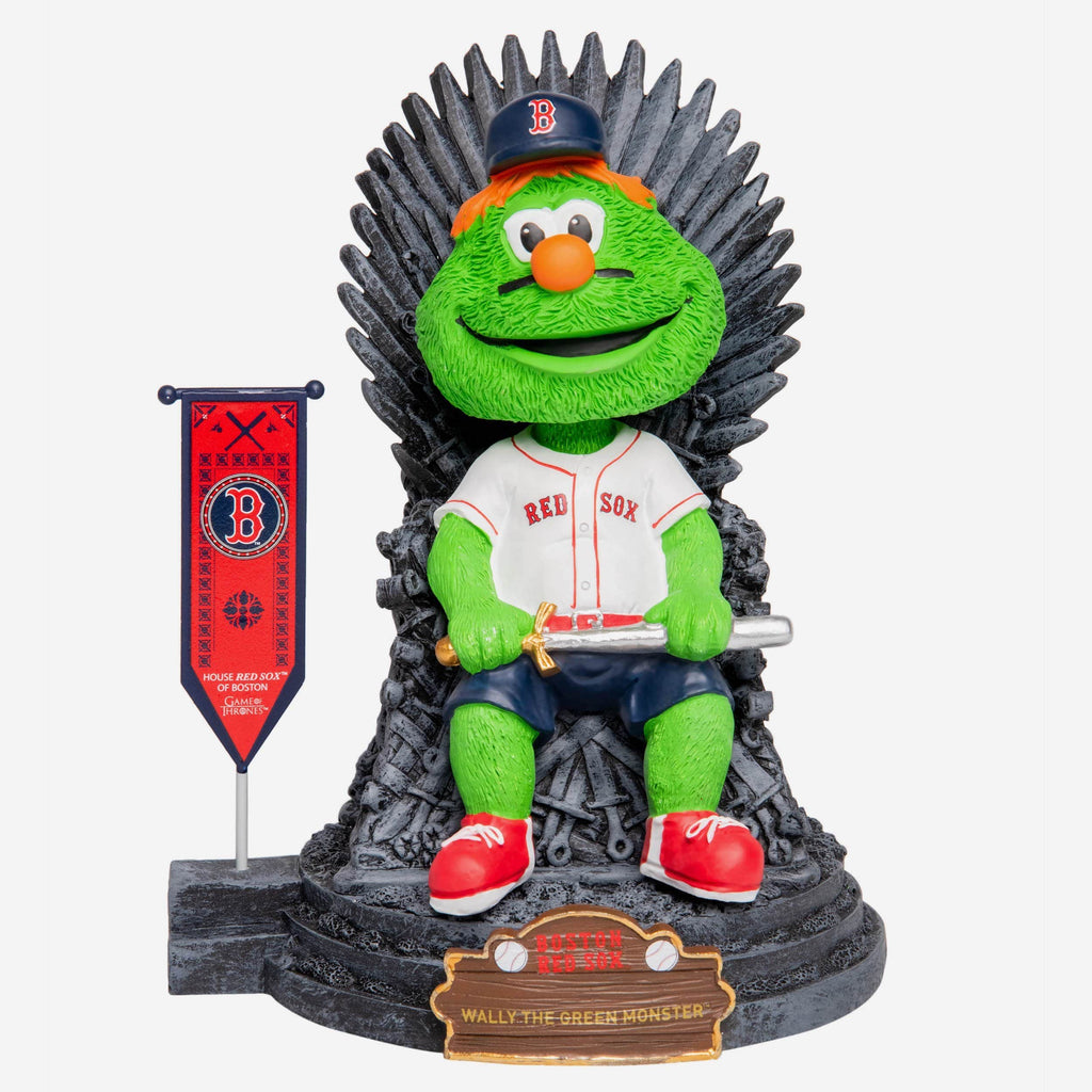Boston Red Sox Wally The Green Monster Game Of Thrones Mascot Bobblehead FOCO - FOCO.com
