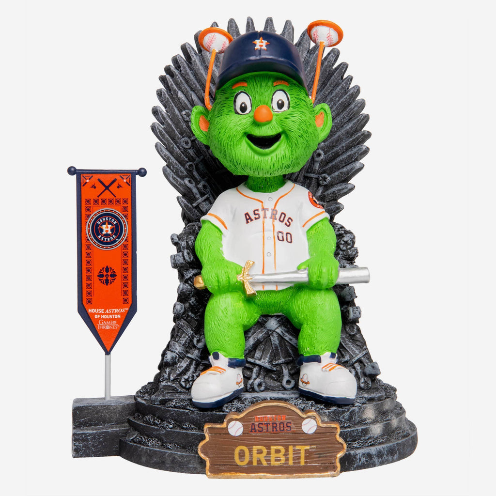 Houston Astros Orbit Game Of Thrones Mascot Bobblehead FOCO - FOCO.com