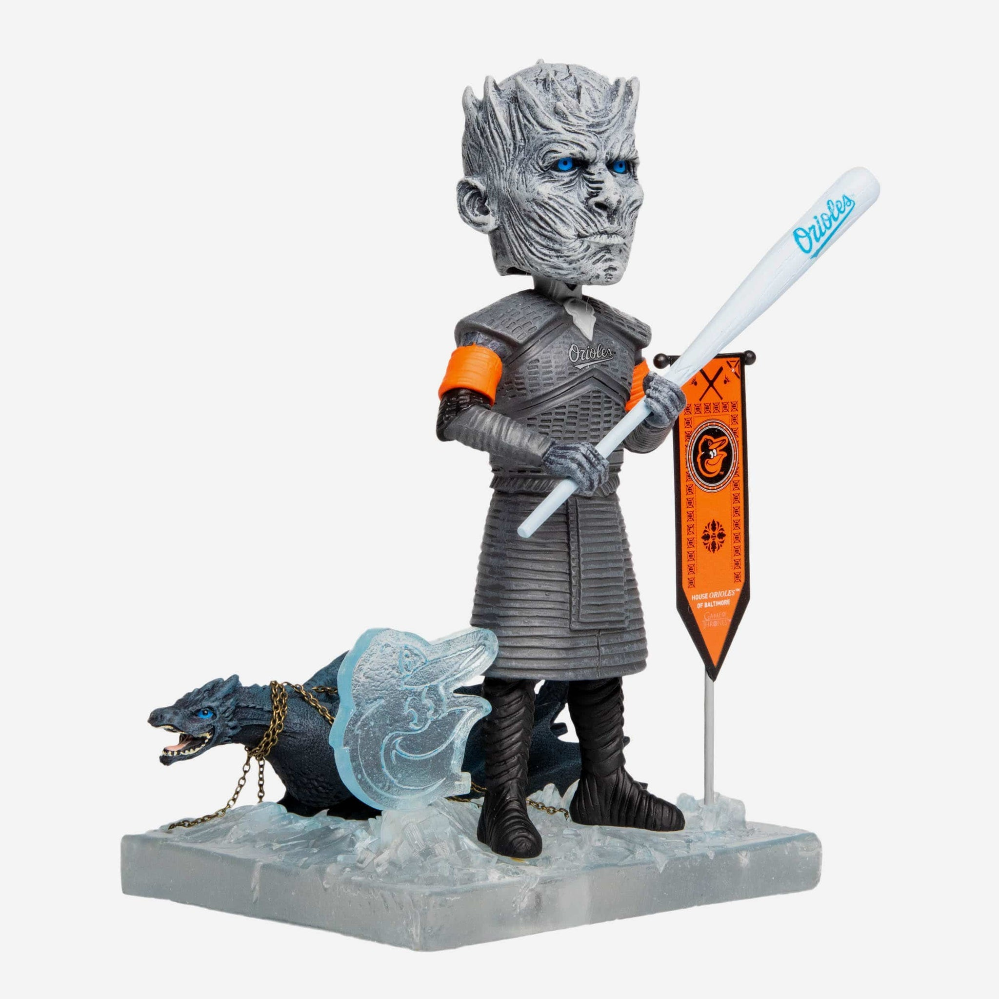 Baltimore Orioles Game Of Thrones Night King Bobblehead FOCO - FOCO.com
