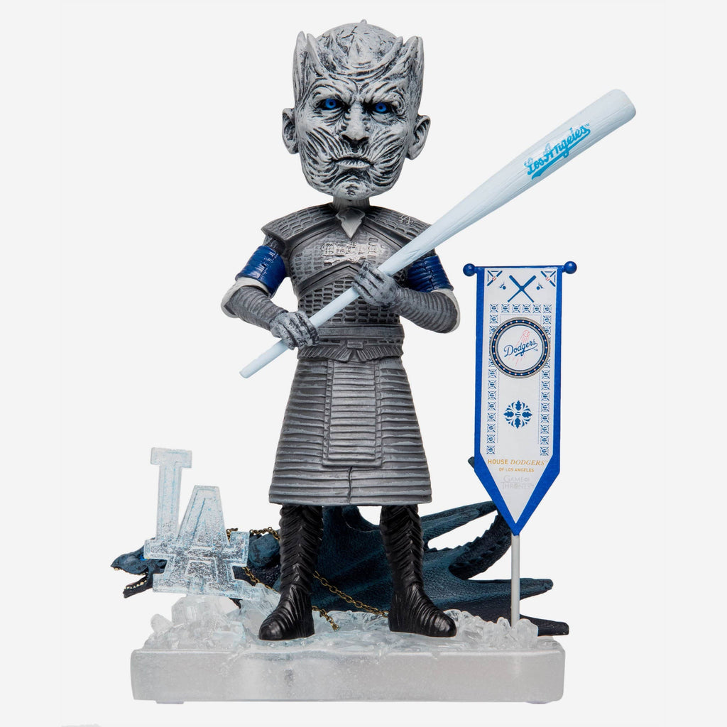 Los Angeles Dodgers Game Of Thrones Night King Bobblehead FOCO - FOCO.com