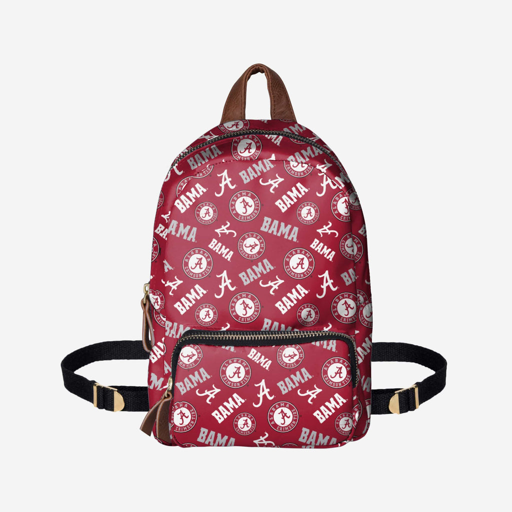Alabama Crimson Tide Printed Collection Mini Backpack FOCO - FOCO.com