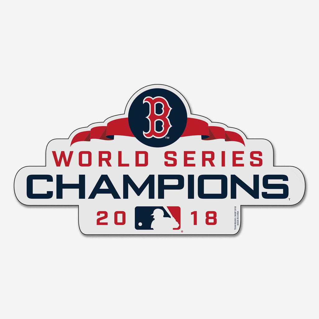 Boston Red Sox 2018 World Series Champions Magnet FOCO - FOCO.com